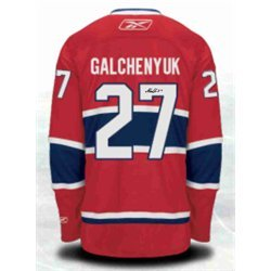 newest collection fef14 31f43 Alex Galchenyuk - Signed Jersey Replica Red Canadiens at ...