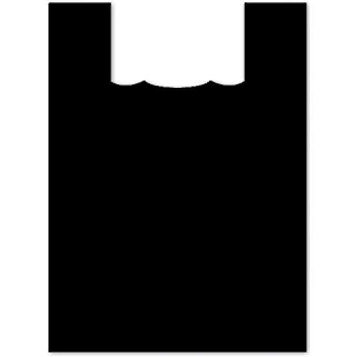 Plasticplace 大型プラスチックショッピングバッグ ブラック 17x21 600/ケース   B07G7FMWCL