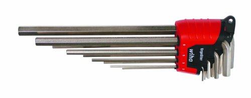 Wiha 35297 9-Piece Metric L-Key Wrench Set 9 Piece Metric L-wrench