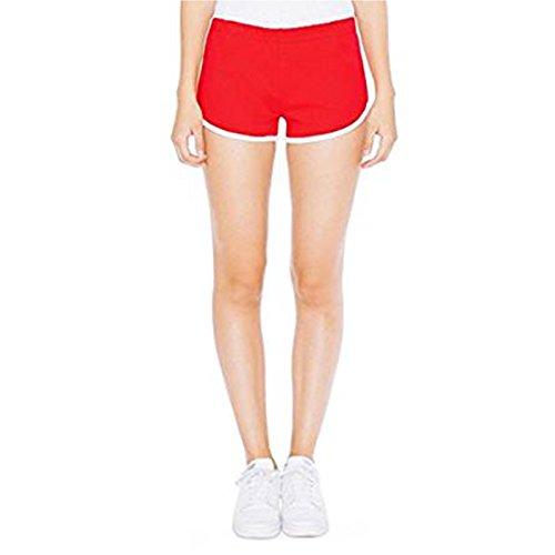 American Rouge Apparel Femme blanc Short 1wr1P8qX