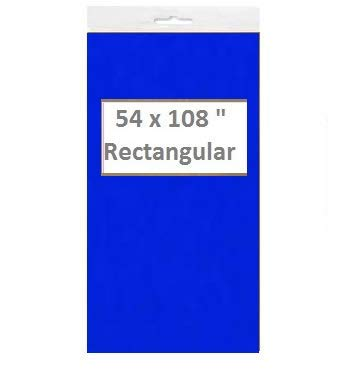 - Blue Plastic Table Covers (54