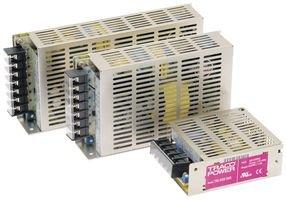 AC/DC Enclosed Power Supply (PSU), Compact, 3 Outputs, 60 W, 5 V, 7 A, 15 V, 3 A