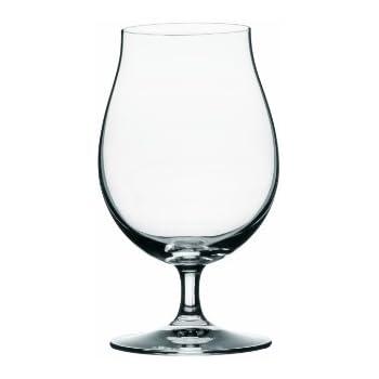 Spiegelau Beer Classics Stemmed Pilsner Glasses, Set of 2 in Gift Box