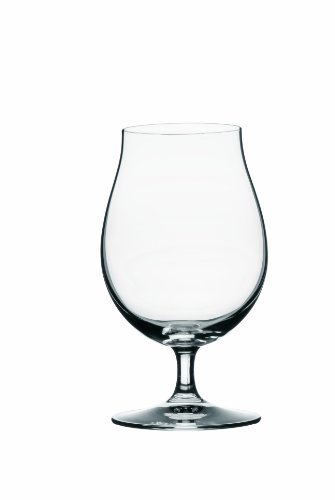 Spiegelau Beer Classics Stemmed Pilsner Glasses, Set of 2 in Gift Box