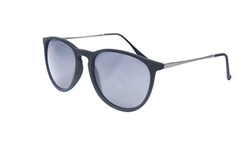 Ocean Sunglasses - Bari - lunettes de soleil en Métal - Monture   Argent  Noir cdae91c79c56