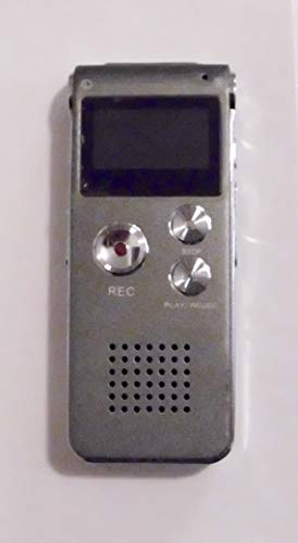 Digital Audio Voice Recorder/Dictaphone / MP3 Player -8GB / 650HR / Multifunctional Rechargeable Dictaphone Player with Built-in Speaker