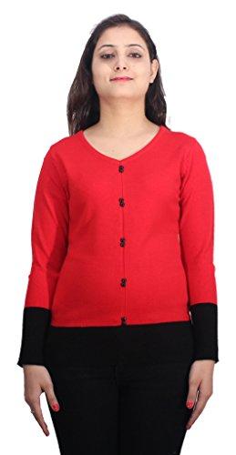 Romano - Sweat-shirt - Femme Rouge Rouge