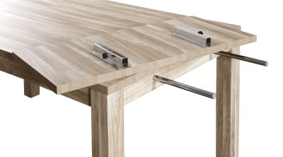 Allonge pour table de séjour STONE VB40A CHENE GRIS: Amazon ...