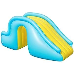 Tobogán Inflable para Piscina Verano,Toboganes De Agua Instalación De Recreación De Juegos De Agua,Juegos acuáticos Instalaciones recreativas Al Aire Libre Tobogán acuático para niños