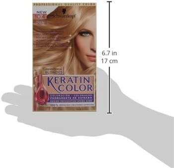 Schwarzkopf Keratin Color 10.4 - Coloración permanente ...