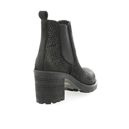 Cuir Nubuck Noir Pao Pao Boots Boots gZxvfqW