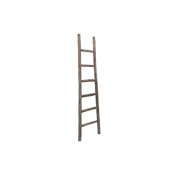 Cheung's Wooden Decorative Ladder, Brown