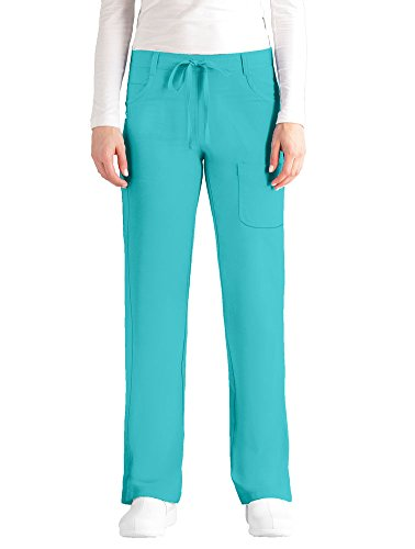 NRG by Barco Uniforms Women's Drawstring Waist Scrub Pant X-Large Tall -