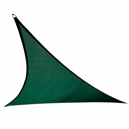 Coolaroo 473907 Coolhaven Triangle Shade sail, 12', Heritage Green