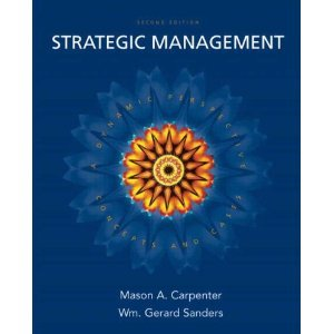 Strategic Management: A Dynamic Perspective, Concepts and Cases [Hardcover] (Strategic Management A Dynamic Perspective Concepts And Cases)