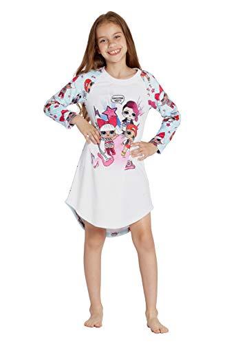 INTIMO LOL Surprise 'Excited Yet?' Raglan Pajama Nightgown (10/12)