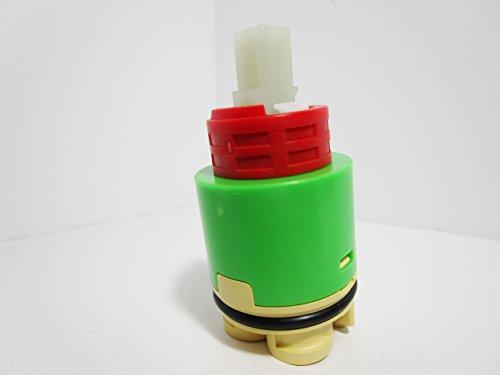 (S/L Ceramic Cart 35mm w/Distributor fits Opella 500.359 Amer. Std. M951472-0070A Ikea, EZ Flo, Kingston Brass)