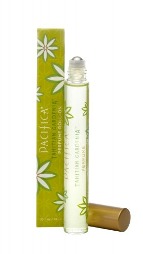 Pacifica Tahitian Gardenia Roll-On Perfume - 10ml Roller Ball (Pacifica Indian Coconut Nectar Perfume Roll On)