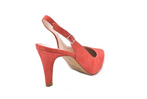CONBUENPIE 6037, Sandali donna rosso