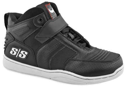 Speed and Strength Run With the Bulls 2.0 Men's Moto Leather Shoes (Black, Size ()