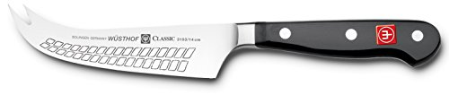 Wusthof 3103-7 CLASSIC Cheese Knife, One Size, Black, Stainless Steel by Wüsthof (Image #1)