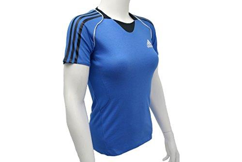 T-shirt Adidas Pres S / S Tee G85920 Vrouwen Blauw