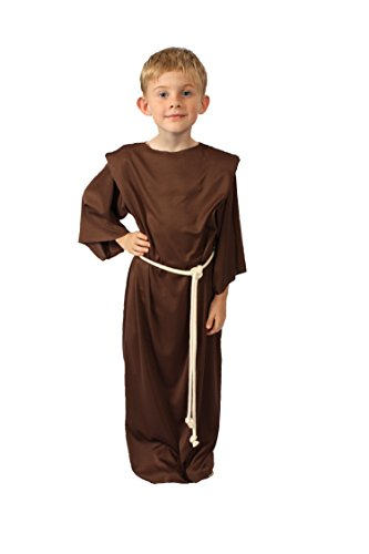 [Alexanders Costumes Story of Christ Biblical Gown Child Costume, Brown, Small] (Shepherd Child Costumes)