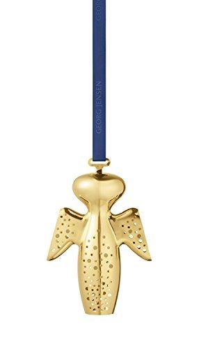 Georg Jensen Gabriel 2017 Christmas Mobile, Brass Gold, 16.3...