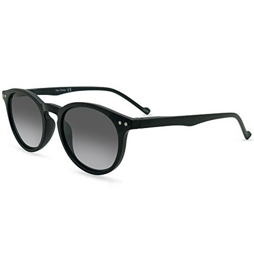 In Style Eyes Flexible Full Reader Sunglasses. Not bifocals Black +1.00