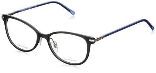 Tommy Hilfiger - TH 1398, Schmetterling, njektion/propionate, Damenbrillen, GREY BLUE(R3B), 52/17/140