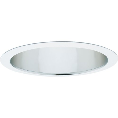 - Progress Lighting P8015-21A Clear Alzak Finish Baffle 7-Inch Outside Diameter, Clear Alzak
