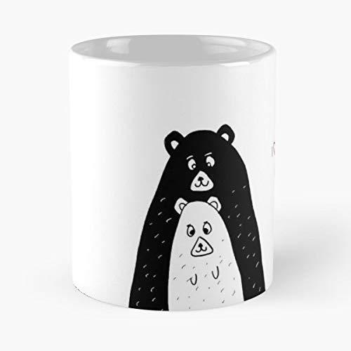 Bears Love Postcards Coffee Mugs Best Gift 11 Oz ()