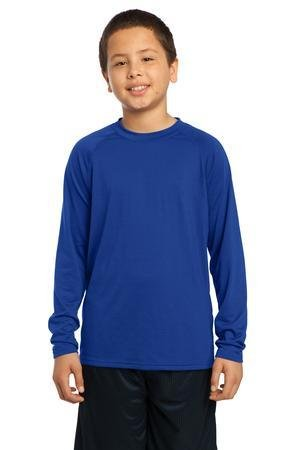 Sport-Tek YST700LS Youth Long Sleeve Performance Crew
