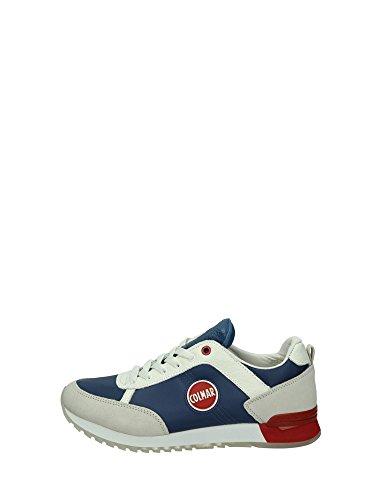 Colmar TRAVIS ORIGINAL Sneakers Uomo Tessuto ROYAL ROYAL 40