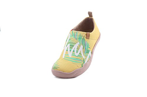original cheap online UIN Women's Aloha Canvas Hawaii Collection Causal Comfort Slip On Shoes Yellow cheap fast delivery collections fast delivery online buy cheap shop offer 9v0S4O