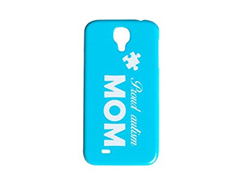 Proud Autism Mom Blue Phone Case for the Samsung Galaxy S5 Autistic Puzzle Piece Back Cover