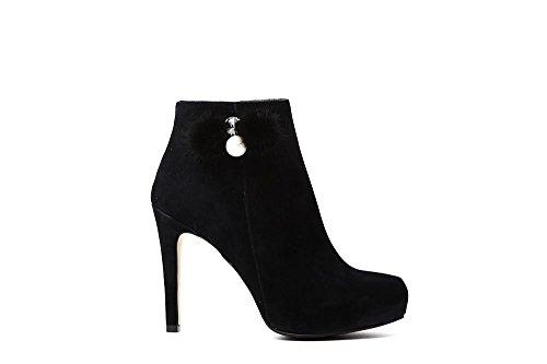Cafè Noir LNC517010350 010 Nero 35 Trouser With Accessory and Suede Pump m3kpx