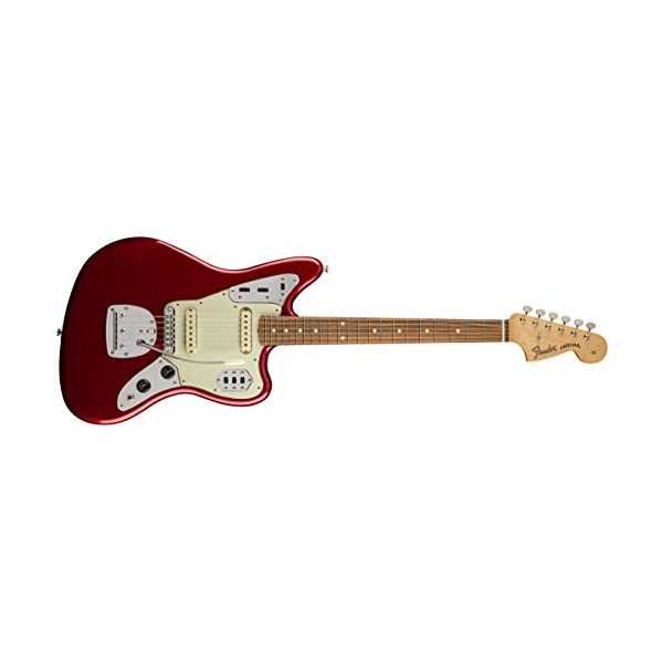 Fender 0141700309 Classic Player Jaguar Special Rosewood Fingerboard Electric Guitar – Candy Apple Red