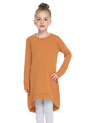 high low brown dress - 2