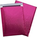 Glamour Bubble Mailers, Pink, 19 x 22 1/2'', 48 / Case