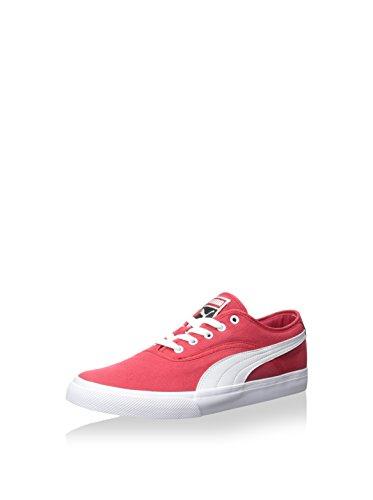 Sneaker Uomo El Loch Puma, Nastro Rosso / Bianco / Nero