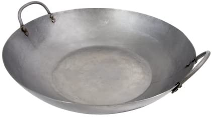 """48 Town 16/"""" Hand Hammered Catonese Wok  Free Shipping USA Only"""