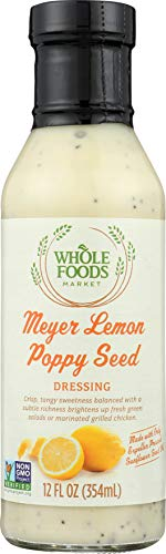 Whole Foods Market Meyer Lemon Poppy Seed Dressing, 12 oz