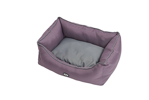 Kruuse Buster Sofa Bed, Black Plum/Steel Grey, 60 x 28'' by Kruuse