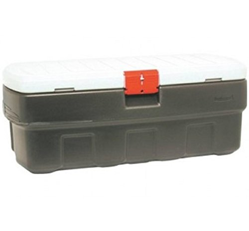 Rubbermaid 1949210 Actionpacker Lockable Storage 48 Gal (Storage Locking Rubbermaid Box)