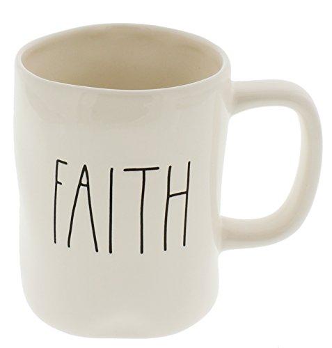 Rae Dunn by Magenta FAITH Ceramic LL Coffee Mug
