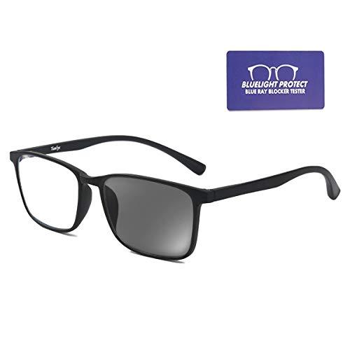 Tanlys Blue Light Blocking Glasses for Computer Eye Strain Anti UV Headache Light Weight TR90 Bluelight Blocker Gaming Glasses for Women ()