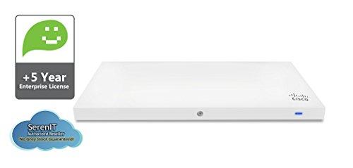 Cisco Meraki MR33 Quad-Radio 802.11ac Wave 2 Access Point, 1.3 Gbps, 802.3af PoE with 5 Years Enterprise License by Meraki (Image #4)