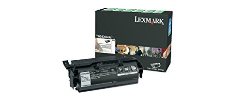 Lexmark Hy Print - Lexmark T654X04A Extra Hy Print Cartridge for Label Applications, Black