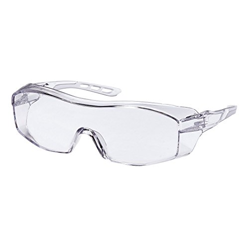 3M00I 47031-WZ6 Eyeglass Protectors with Scratch Resistant Lens, Frame: Clear & Lens: Clear